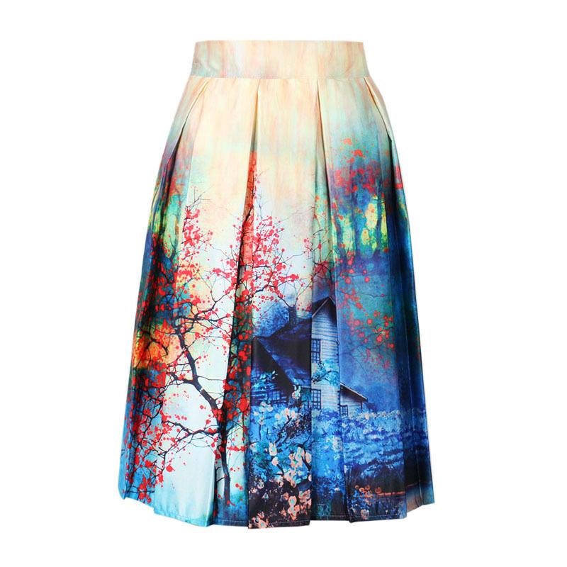 Fashion Women Skirts 2016 New Designer Brand Womens Long