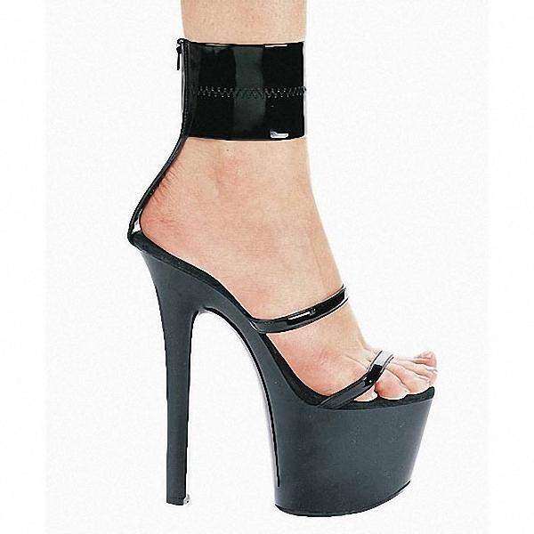 Фотография 20 CM high heels professional joker lady shoes CM photo photo shoes sandals