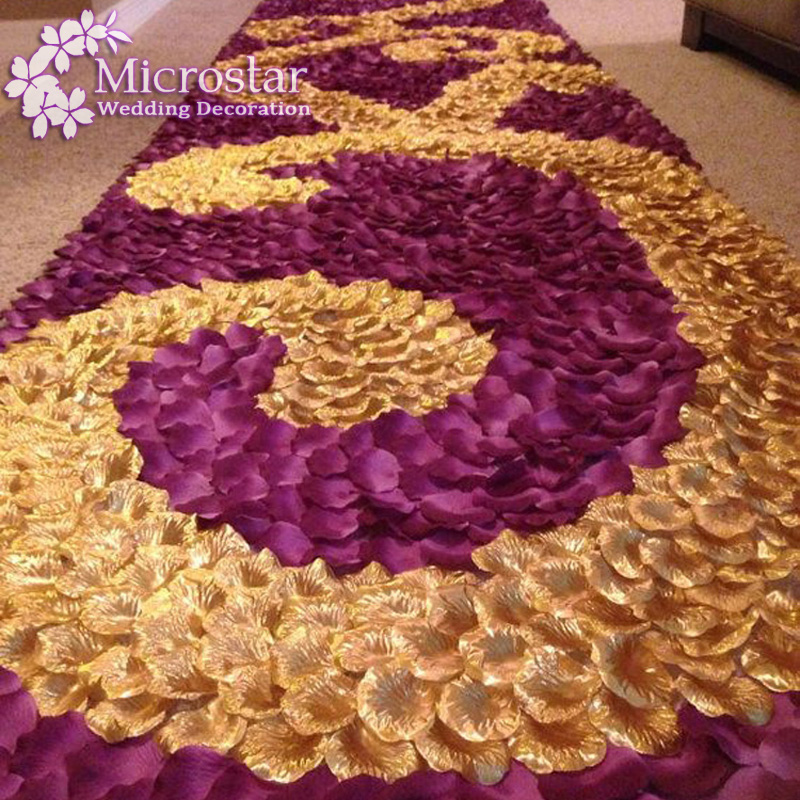100pcs Silk Rose Petals Table Confetti Artificial Flower Baby Shower Crafts Wedding Party Events Decoration Supplies Marriage(China (Mainland))