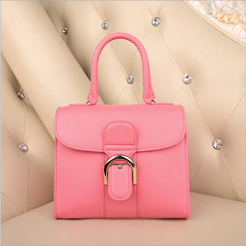 2015 New Designer Genuine Leather Handbags High Quality Ladies European Small Waterproof Shoulder Bag 6268<br><br>Aliexpress