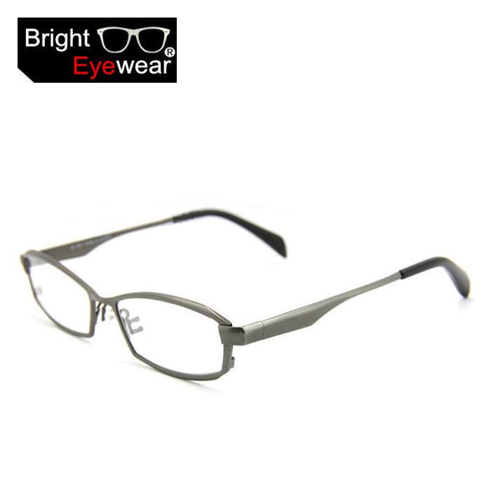 High End Pure Titanium 8718 full glasses frame for men ...