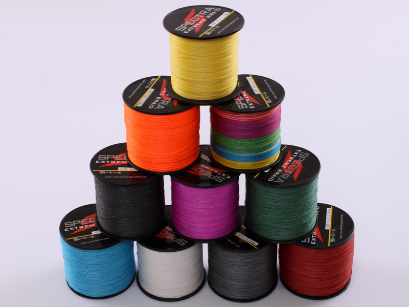 4 Strands 300M PE Braided Fishing Line Sea Saltwater Fishing Weave Superior Extreme Super Strong 100% SuperPower Spectra(China (Mainland))