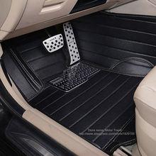 Custom fit car floor mats for Honda HRV HR-V Vezel 3D heavy duty all weather car-styling carpet leather floor liners(2014- now)