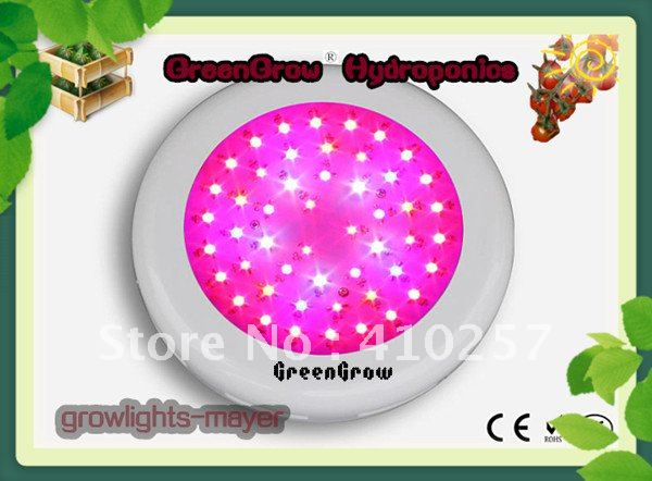 Фотография 70dollar promotion UFO led grow light 150W(50*3W),3W Epistar chip,3years warranty,HIGH-QUALITY,Dropshipping