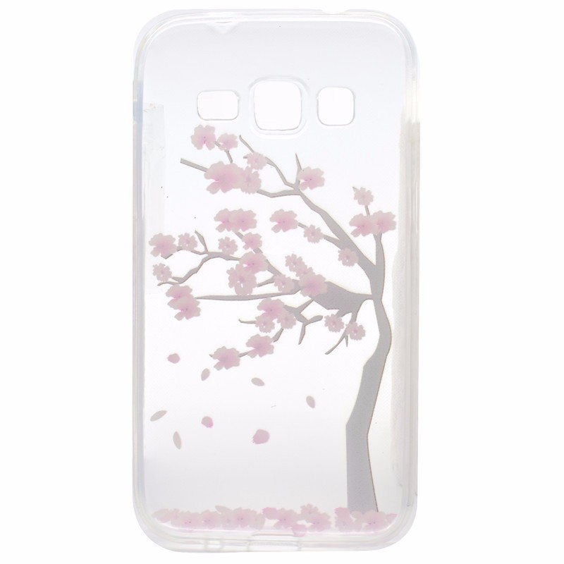 Cartoon Ultra-thin Transparent Soft TPU Silicon Phone Case For Samsung Galaxy J3 2016 J320 J310 J300 Butterfly Floral Back Cover