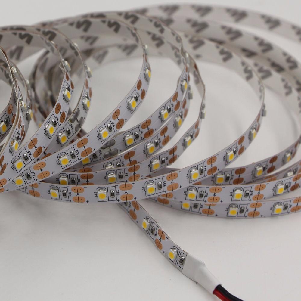 1Pcs 50cm 1M 2M Fita De  5V USB Cable RGB LED Strip light String 3528 SMD Decorative Ribbon lamp Tape For TV Background lighting