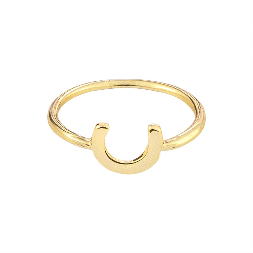 line Get Cheap La s Horseshoe Ring Aliexpress
