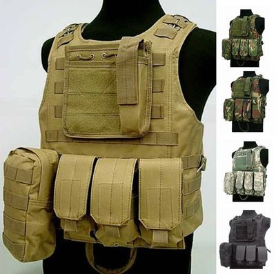 Tactical vest outdoor products seal Camouflage amphibious High quality cs Counterterrorism Military Protective Training combat(China (Mainland))