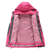 s-4xl плюс размер зимняя новая мода 2 в 1 двойной слой женщин Толстовки спортивные пальто Открытый водонепроницаемый заряд одежда куртка