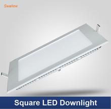 3W/4W/6W/9W/12W/15W/18W LED square panel light ceiling bulb Downlight Warm /Cool white,indoor lighting AC85~265V(China (Mainland))