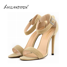 Women Sexy Party Open Toe Thin Heels Pumps Bridal Flock High Heels Shoes Pumps 8 color US SIZE 4-11 102-3VE(China (Mainland))