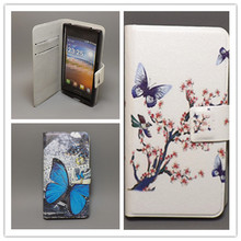New Ultra thin Flower Flag vintage Flip  for fly iq4404 Cellphone Case ,Free shipping