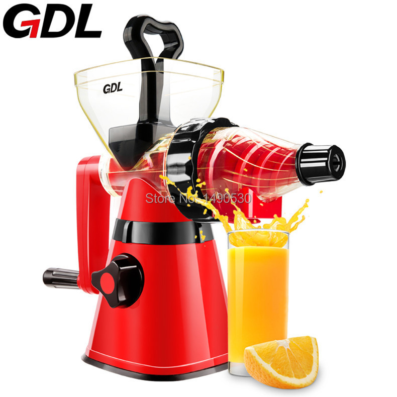 Gdl Manual Slow Juicer : GDL Stainless Steel Manual Fruit Juicer Extractor Squeezer of Kitchen Appliances