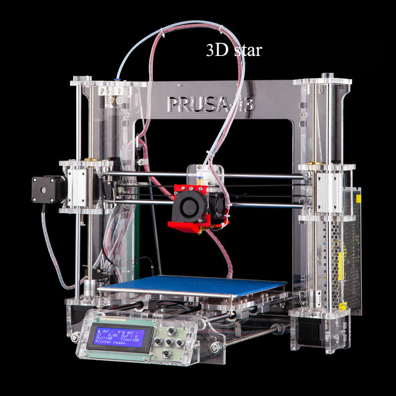 3D Printer Auto leveling Prusa i3 3D Printer kit Melzi control board automatic level bowden extruder