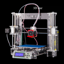 Auto leveling Prusa i3 3D Printer kit Melzi control board automatic level bowden extruder + 2 rolls filament