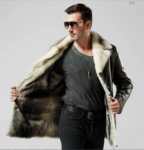 Купить Мужскую Зимнюю Куртку На Меху Из Волка