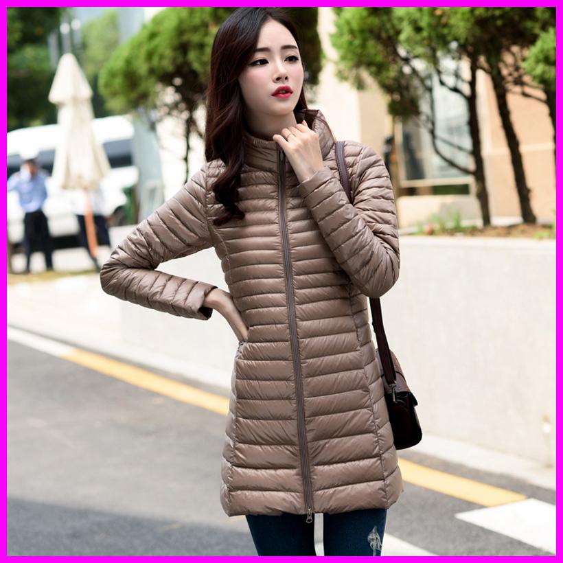 Long Winter Parka Womens Down Jackets Brand Designer Ultra Light White Duck Down Coats Plus Size(China (Mainland))