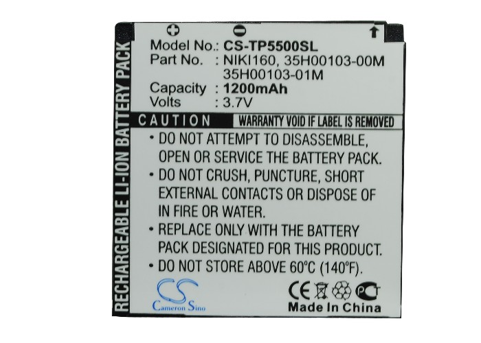 Battery For HTC For Neon 300, For Nike 100, 200, P5500, P5520, P5530, Touch Dual P5310, US(China (Mainland))