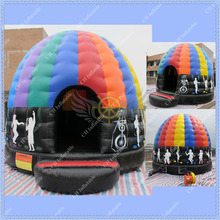 Hot Selling Attractive Inflatable Disco Dome Bouncer ,Dome Bouncer,Music Dome Bouncer, Inflatable Disco Dome for Your Events(China (Mainland))