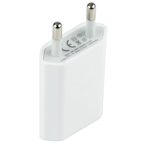 EU Plug USB Power Home Wall Charger Adapter for iPhone 5 5S 5C 4 4S Cell Phone+ Only To USA Drop shipping
