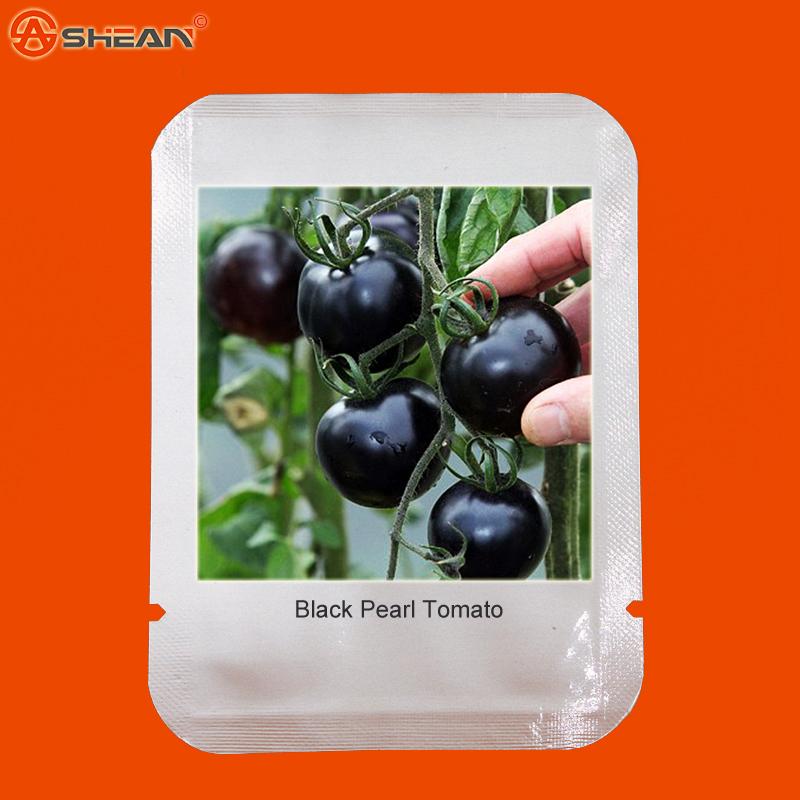 1 Pack 100 Seeds / Pack, Black Krim Tomato Russina Heirloom Seeds Fine Textured Flesh Large Tomato(China (Mainland))