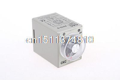 24V Power on delay timer time relay 0-3 minute 3m & Base(China (Mainland))