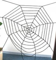 New 2014 Brand New New Black Spider Web / Cobwebs for Halloween Decor Free Shipping