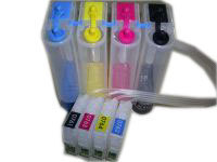 4 Color 1 Set Empty CISS for Epson T0761-4 for Epson ME 2/ME 200/C58/CX2800/C59CX2900/CX2905