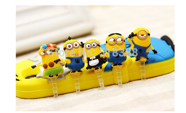 New come Anti Dust Plug Cartoon Phone Accessories Antidust Plug for Mobile Phones Dustproof Plug for