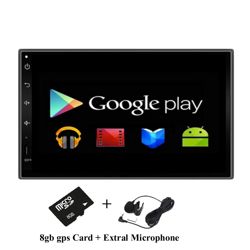 Quad Core 1024*600 Android 4.4 For Car PC Tablet 2din Universal For Nissan GPS Navigation BT Radio Stereo Audio Player No DVD(China (Mainland))