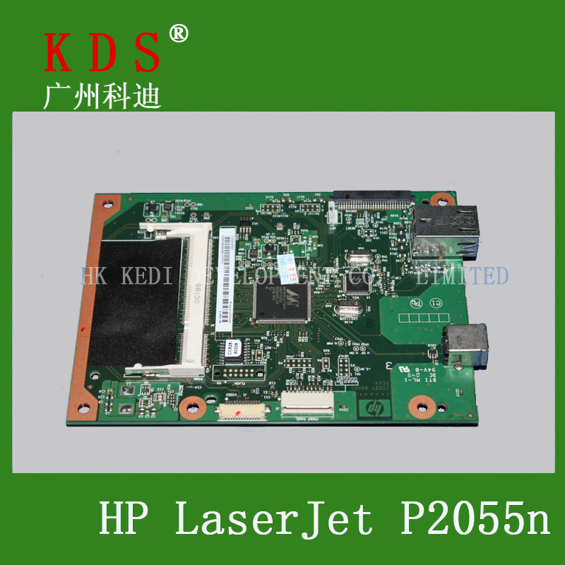 Bulk Price 5 pieces lots CC528 60001 Logic Board For HP 2055DN Formatter Board Original and