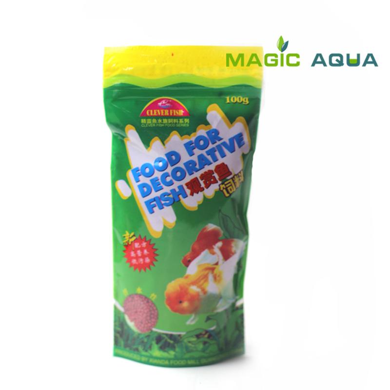 Free shipping magic aqua 100g aquarium tank fish food high for Protein in fish
