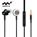 Portable Mini Stereo Bass Earphone For iPhone 5 6 Samsung Mobile Phone With Microphone Wired Outdoors Sport Earphones 120CM