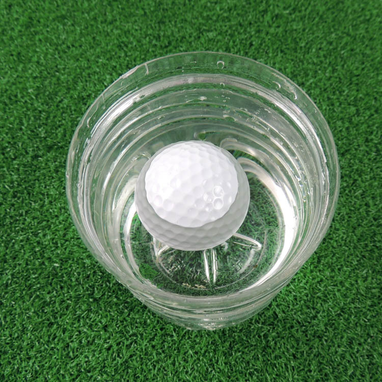 Free Shipping 5Pcs Golf ball golf practice ball floating bal(China (Mainland))