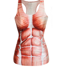 Brand Summer New 2015 Women Tanks RIBS 3D Vest Tops Skull Bone Tanks Women Sexy Tank Top 4 Patterns Women Clothing(China (Mainland))