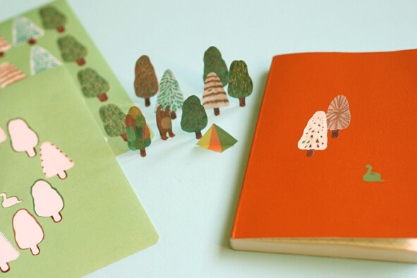 Brief Style Norway Forest Animals Paper Stationery Diary Stickers Decorative Mobile Stickers Scrapbooking DIY Stickers<br><br>Aliexpress