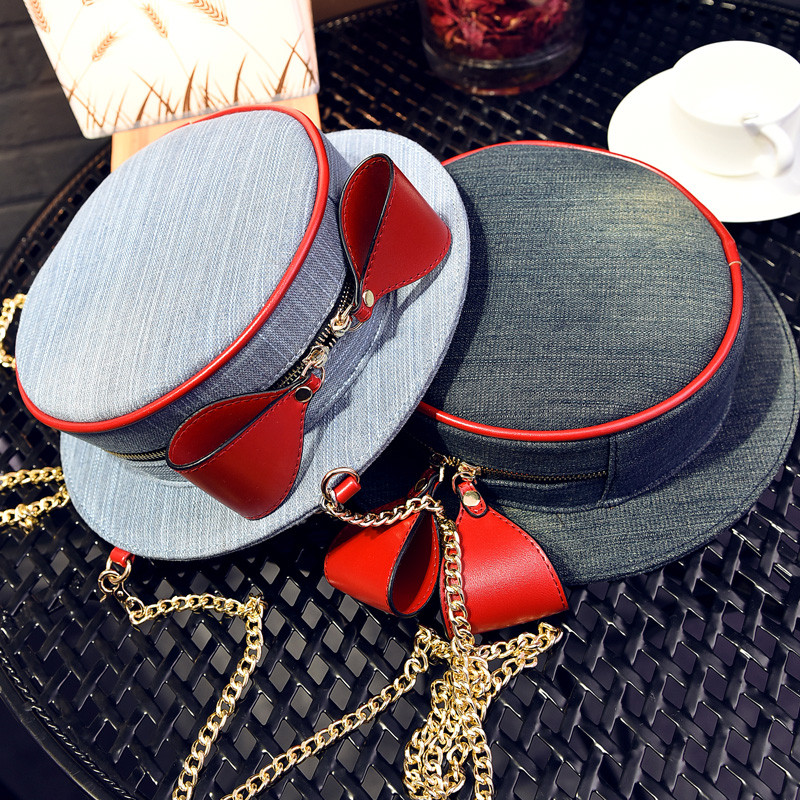 2015 Winter new personalized hat shape ladies shoulder bag, womens fashion chain shoulder strap messenger bags Christmas gift<br><br>Aliexpress