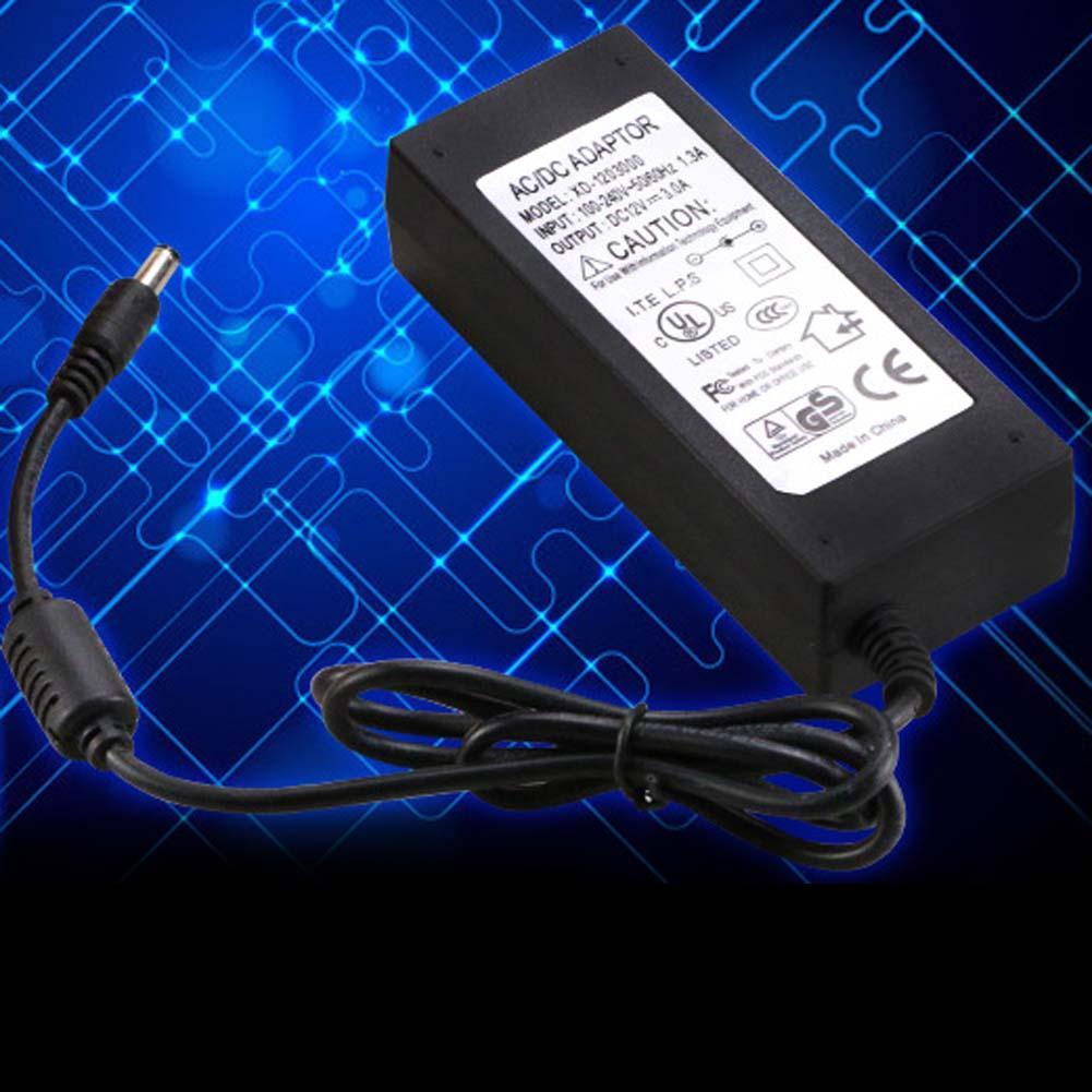Universal 12V 5A AC Power Supply AC Adapter Charger For LED Light CCTV Camera power adapter 12v ac power cord ANG(China (Mainland))