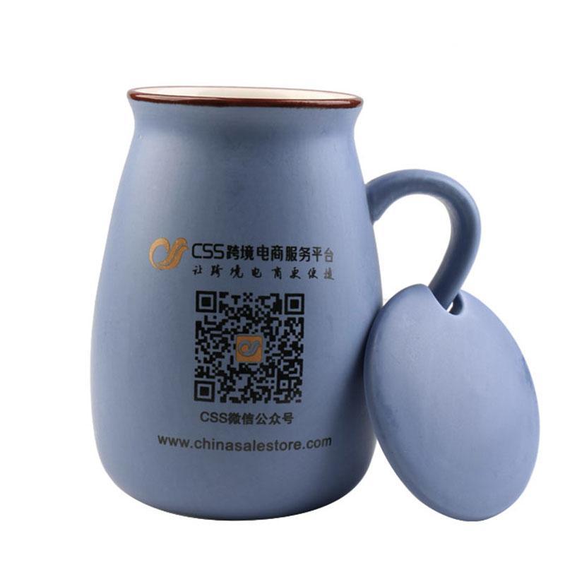 Oval Ceramic Creative Mugs With Lid Novelty Coffee Cup Tea Water Mug Gift Drinkware(China (Mainland))