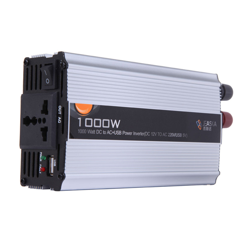 Free Shipping Car Truck DC 12V to AC 220V 1000W Power Inverter Charger Converter Adapter ME3L(China (Mainland))