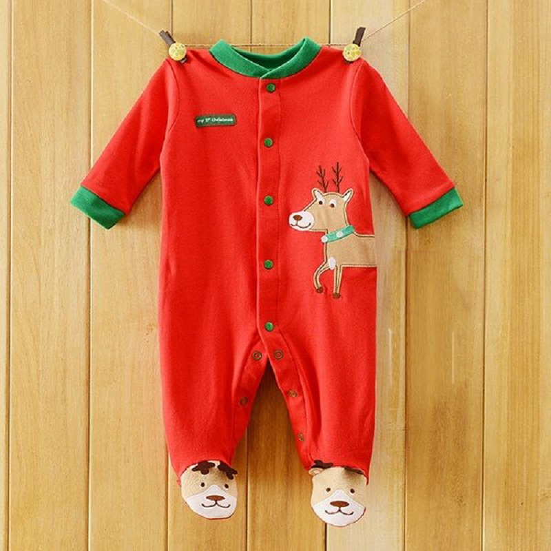 baby romper Payifang  baby boys pajamas rompers one-piece romper 100% Cotton<br><br>Aliexpress
