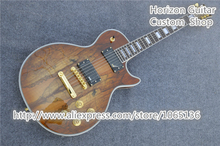 Chinese OEM Musical Instruments LP Custom Electric Guitar Splated Maple Top In Stock For Sale(China (Mainland))
