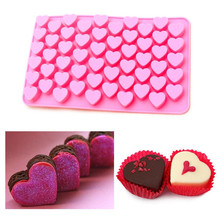 Buy Silicone Mold 55 Hole Heart Shaped Mould to Make Candy Mold Chocolate Brown Sugar and Ice Mold A057 for $1.87 in AliExpress store