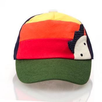 13 allo male female child 100% cotton baseball cap colorant match baby sun hat anti-uv
