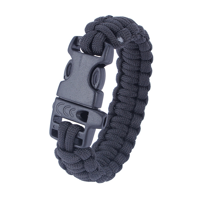 Tactical Paracord Whistle Bracelet