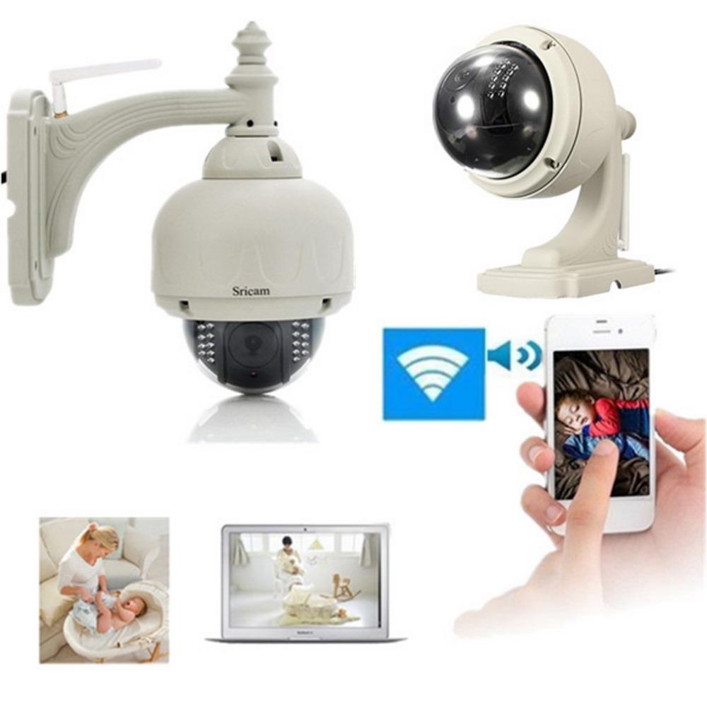 720P HD Night Vision IP Camera Outdoor Security Camera Wireless WiFi Tilt IR-CUT Two Way Audio Recorder(China (Mainland))