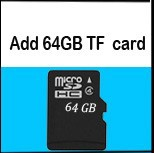 add 64GB TF card