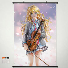 Home Decor Anime Your Lie in April Wall Poster Scroll Japanese Cosplay N1 038