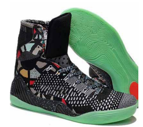 Free Shipping Mens Basketball Shoes High Ankle IX ELITE Basketball Trainers 9 Colors US Size 8-12(China (Mainland))