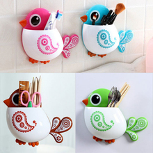 Amazing Cute Cartoon Toothbrush Holder Bathroom Set Toothbrush Bathroom Accessories 4 Color Choice(China (Mainland))